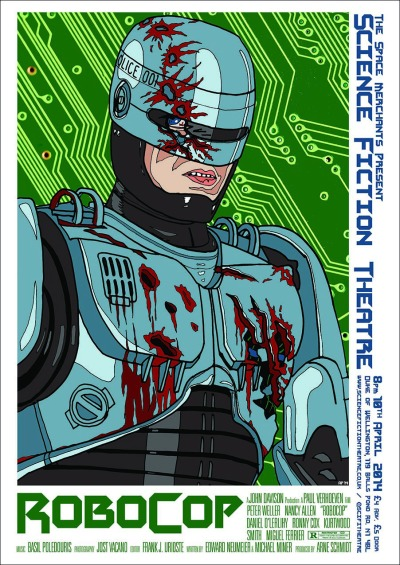Robocop by Autun Purser