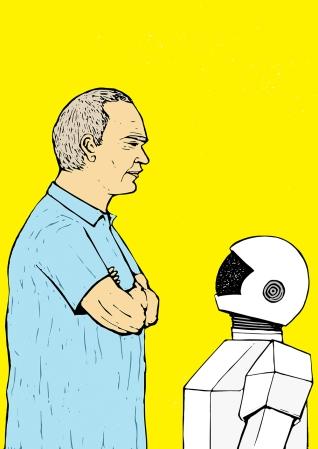 ROBOT & FRANK (2012) by Pedro Demetriou