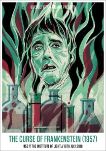 THE CURSE OF FRANKENSTEIN (1957) by Nick Taylor