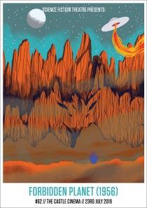 FORBIDDEN PLANET (1956) by Aleesha Nandhra